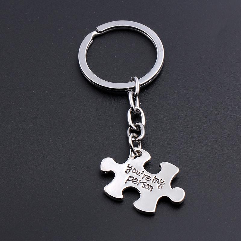 """Zinc Alloy /""""you are my person/"""" Pendant Keychain Keyring Jewelry Charm Gifts"""