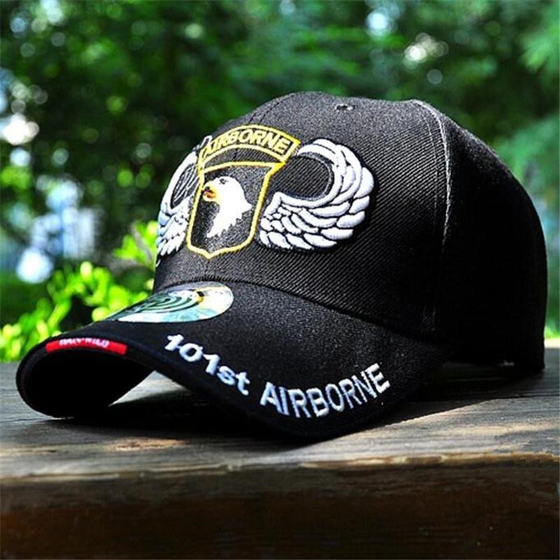f26f28fb90b15 Air Force US 101 Airborne Baseball Cap Men Women Snapback Hat Cap ...