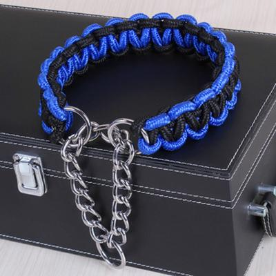 Pet Leashes Large Dog Leads Durable Knitted Dog Collar for Walking Running Mountains Pet Supplies