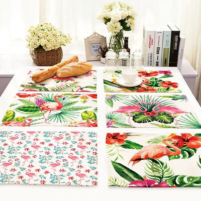 Lovely  Flower PVC Anti-Slip Table Insulation Mat Heat Pad Kitchen Placemats