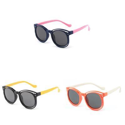 b28d03d362bf Glasses Eco-friendly Girls UV400 Ergonomic Silicone Boys Summer Sunglasses  Kids for Sun