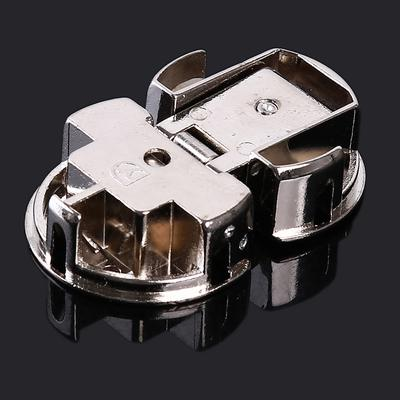 Color: as Picture Furniture Fittings Hidden Door Corner Top and Bottom Hinge Furniture Hinge Chicken Mouth Base Grinding Accessories Hinge