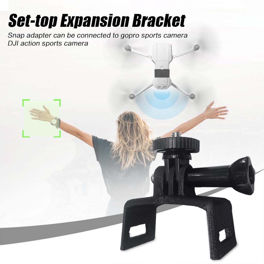 Ultra-Light Camera Expansion Connector Adapter for DJI Mavic Air 2 Drone Gopro