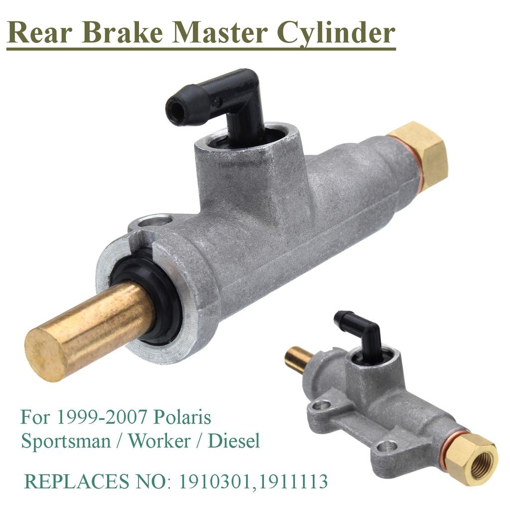 Rear Brake Master Cylinder For Polaris Sportsman Worker ATV 1911113 1910301