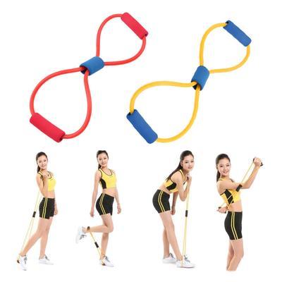 Sunnyday Tube dexercice /élastique de Corde de Bande de r/ésistance de r/ésistance pour la Corde de Traction de Tube de Latex dentra/înement de Pilates de Yoga