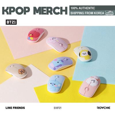 30.7 x 11.8 inch BT21 Official Baby Long Desk Pad by Royche