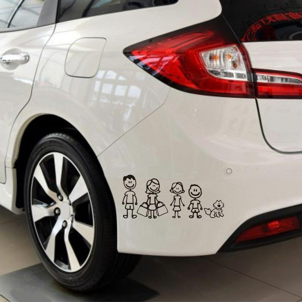 My Family Funny Vinyl Decal Sticker Car Auto Window Decals Stickers 1PC