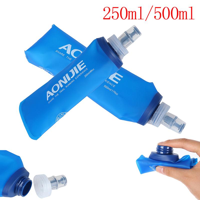 AONIJIE TPU Folding Soft Flask SportS Water Bottle for Running Camping Hikin uD