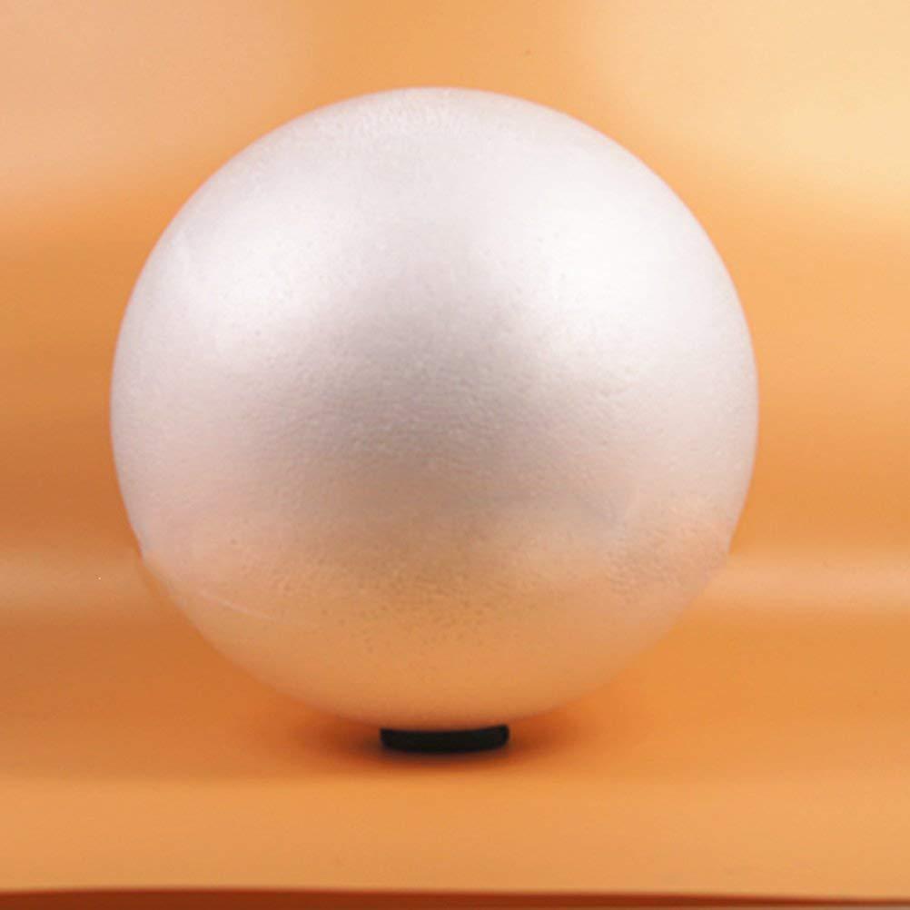 10 pcs 8cm weiß Modellierung Handwerk Styropor Kugeln Kugel