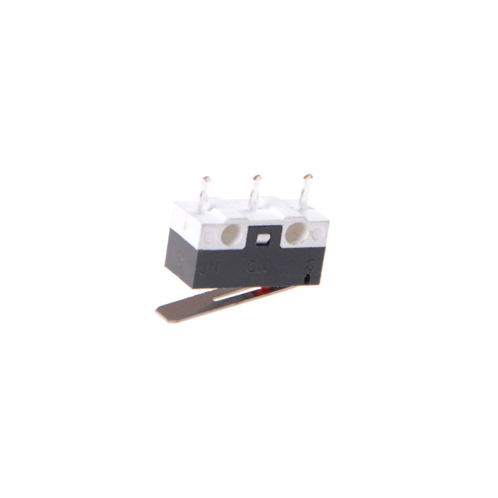 10Pcs KW10 125V 1A 3 Terminals Momentary 13mm Lever Arm Micro Switch In UK /_