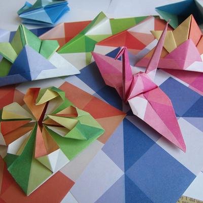Origami 'Bipyramid' Tutorial & What To Do With Them Mr Printables ... | 400x400