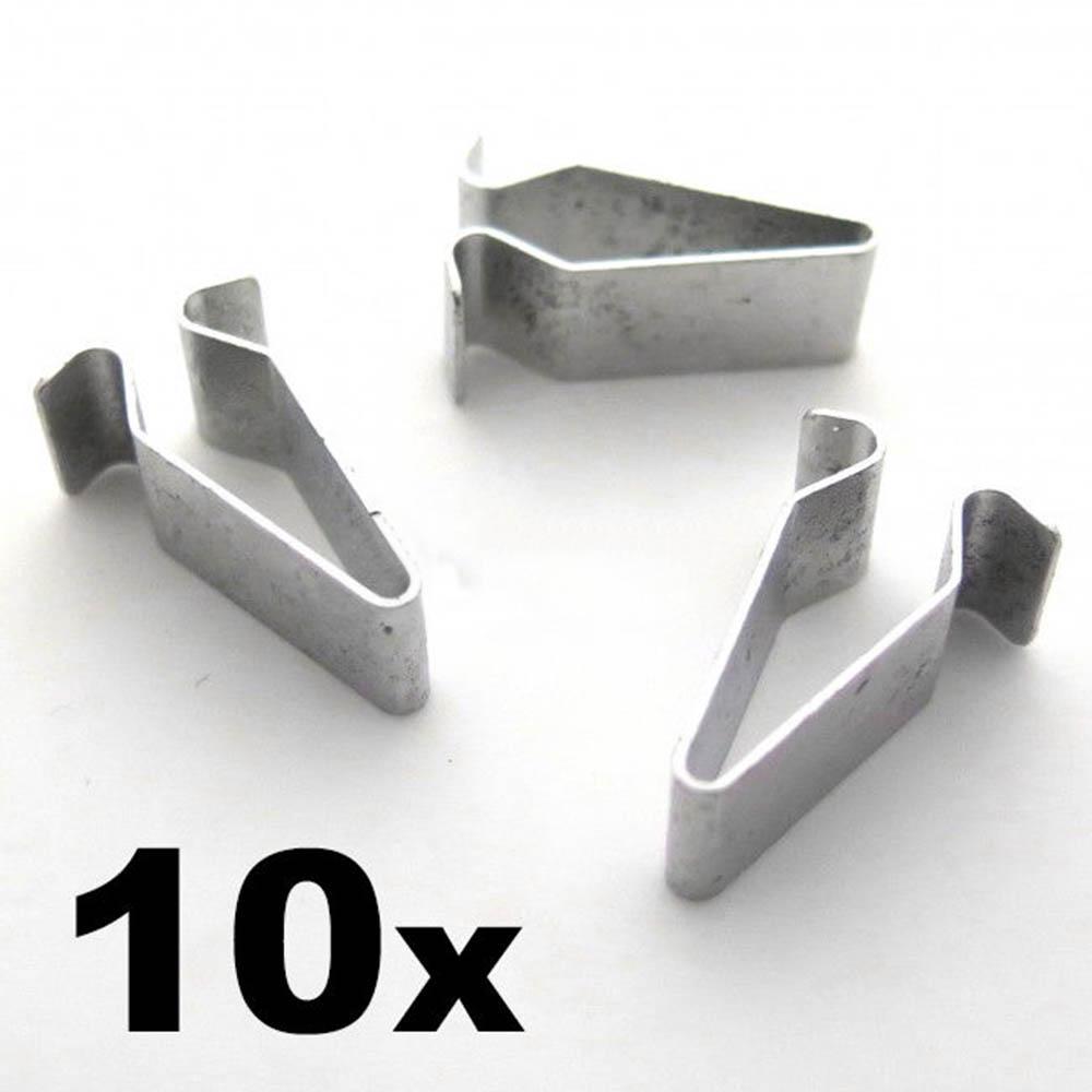 10x Pince Support Parenthèses audi a1 a3 a4 a5 a6 a7 q3 q5 q7 TT 4a0867276