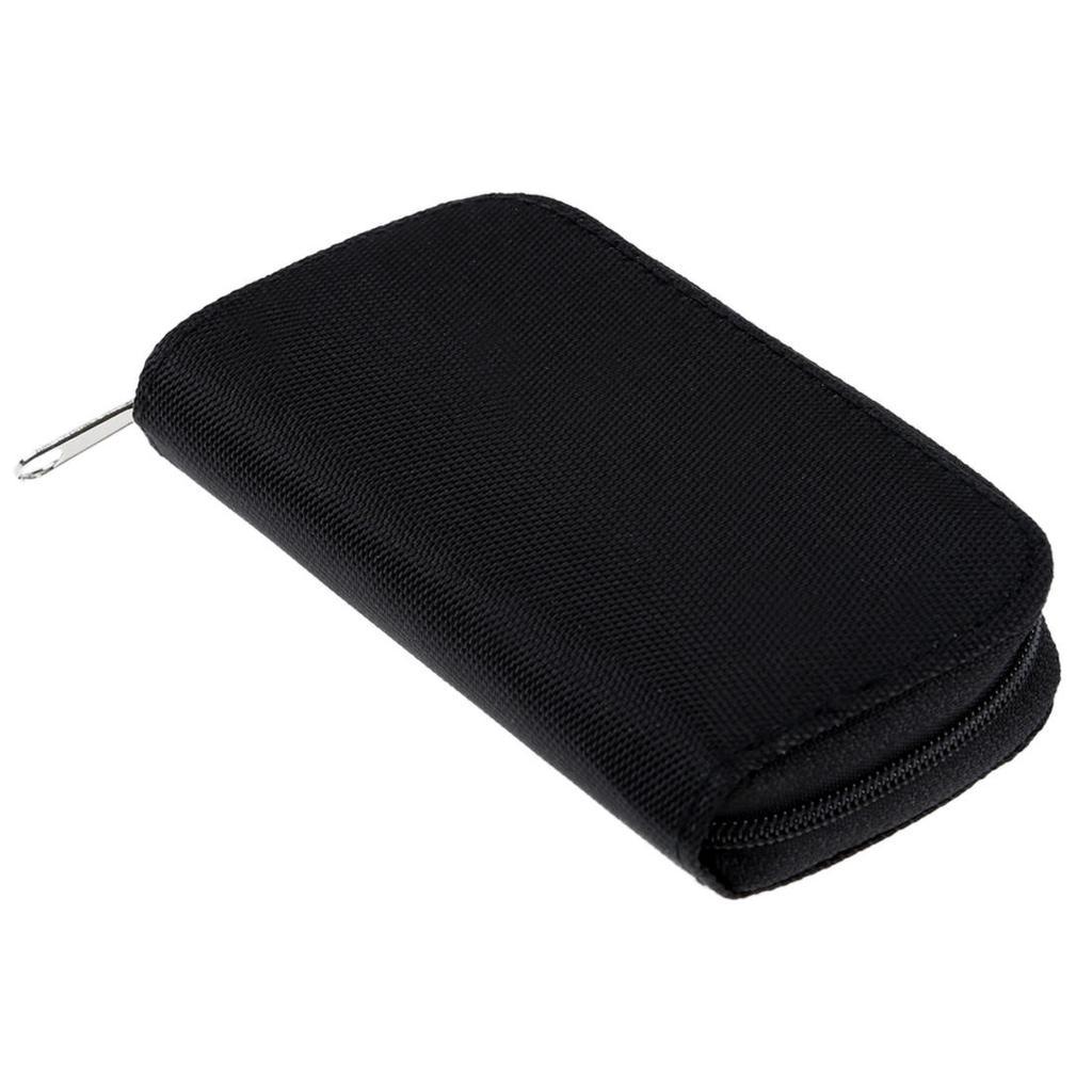 Rosa cartera de tarjeta de memoria Micro SD SDHC Sm-Soporte de almacenamiento protectora cf caso