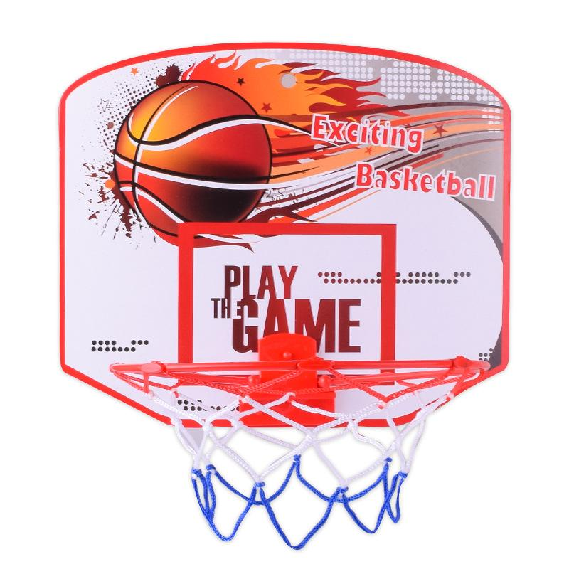 Kids Toys Children Indoor Sports Game Hanging Basketball Hoop Toys N3