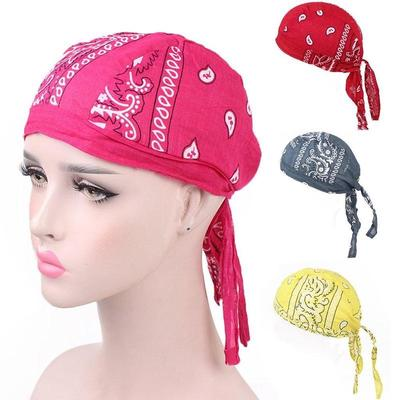 Plain Bleu Royal Ajustée Bandana Zandana Durag Head Wrap écharpe facile Cravate Coton