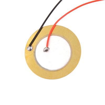 100PCS 27mm Piezo Elements Sounder Sensor Trigger Drum Disc Copper UK
