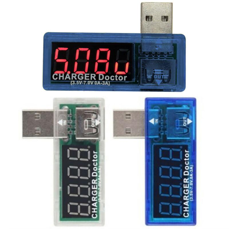 USB Voltage Current Power Meter Tester Monitor Reader Phone Charger Doctor LCD