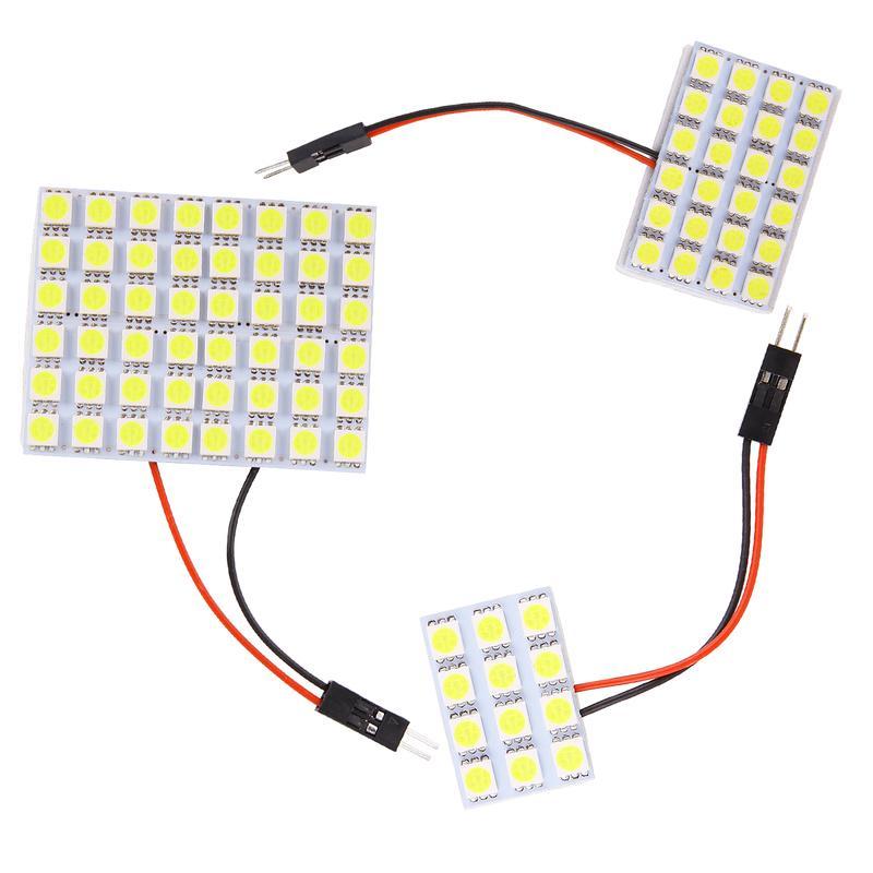 12V//24V 24//48 LED Car Interior White Strip Lights Bar Lamp Van Caravan Switch