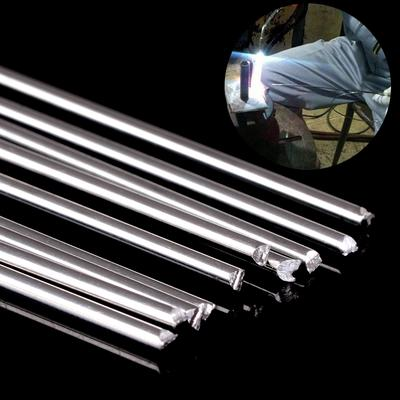 5//10//20pcs Low Temp Aluminum Alloy Silver Welding Brazing Solder Rod For Repair