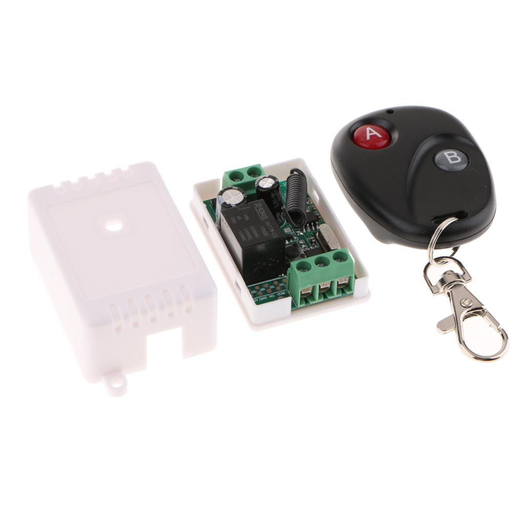 220V 30A 1CH Wireless RF Remote Control Switch Transmitter Module+Receiver ABS
