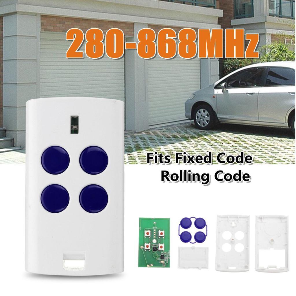 BFT B RCB TX2 TX4 Remplacement Garage Gate télécommande rolling code fob