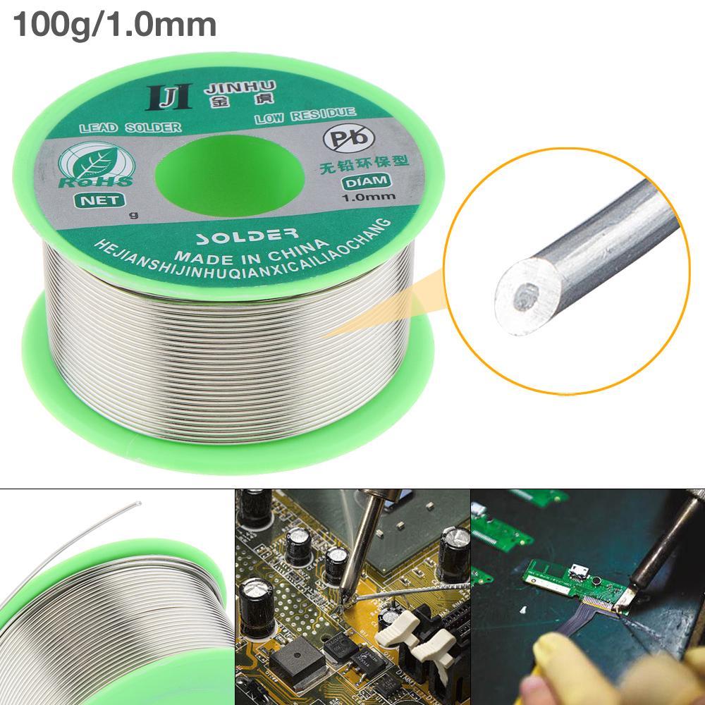 Sn99.3 Cu0.7 Lead Free Rosin Core Flux 0.5mm Diameter Soldering Wire 100g