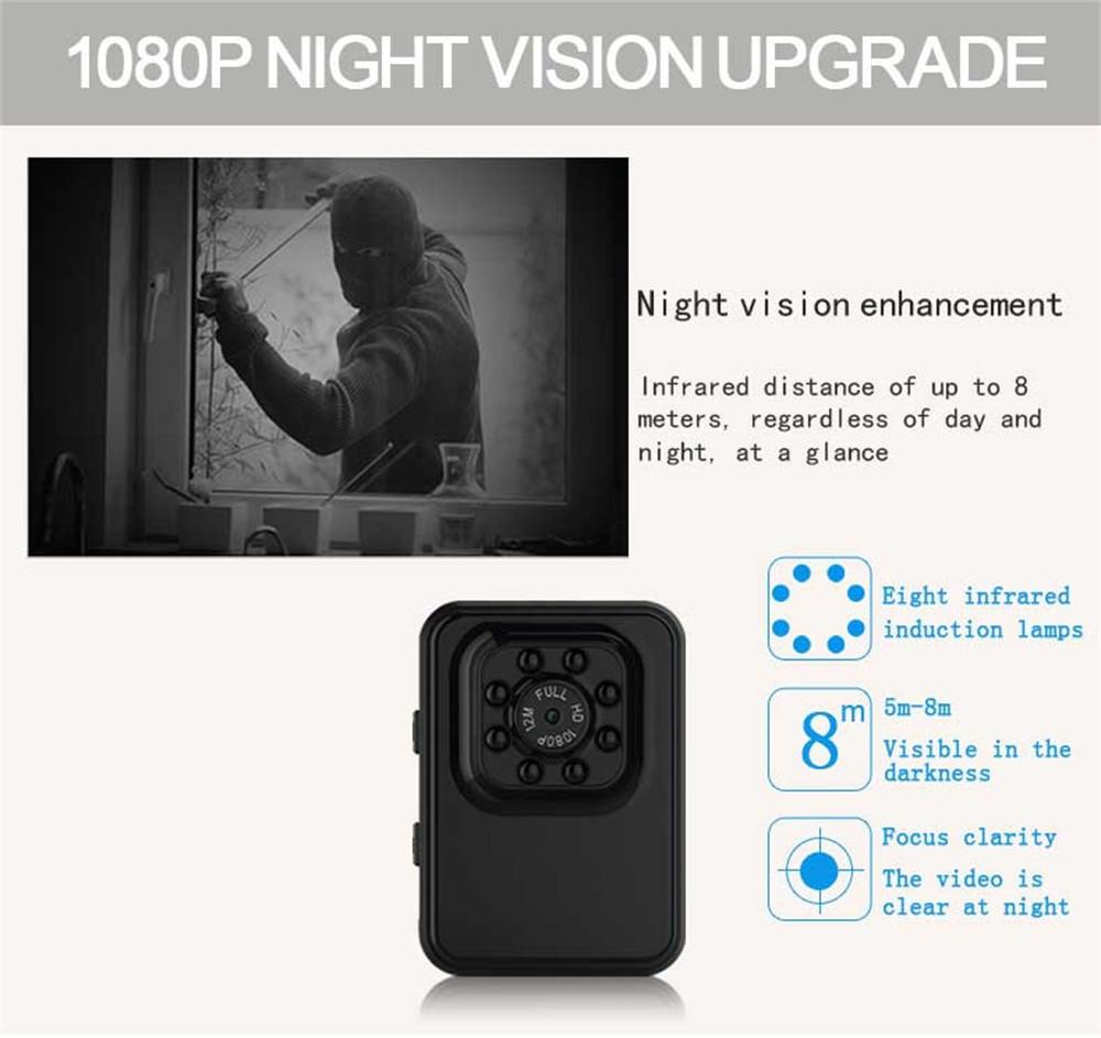 R3 Mini HD Sports DV DVR Video Audio Camera Recorder DV Camcorder Webcam NEW