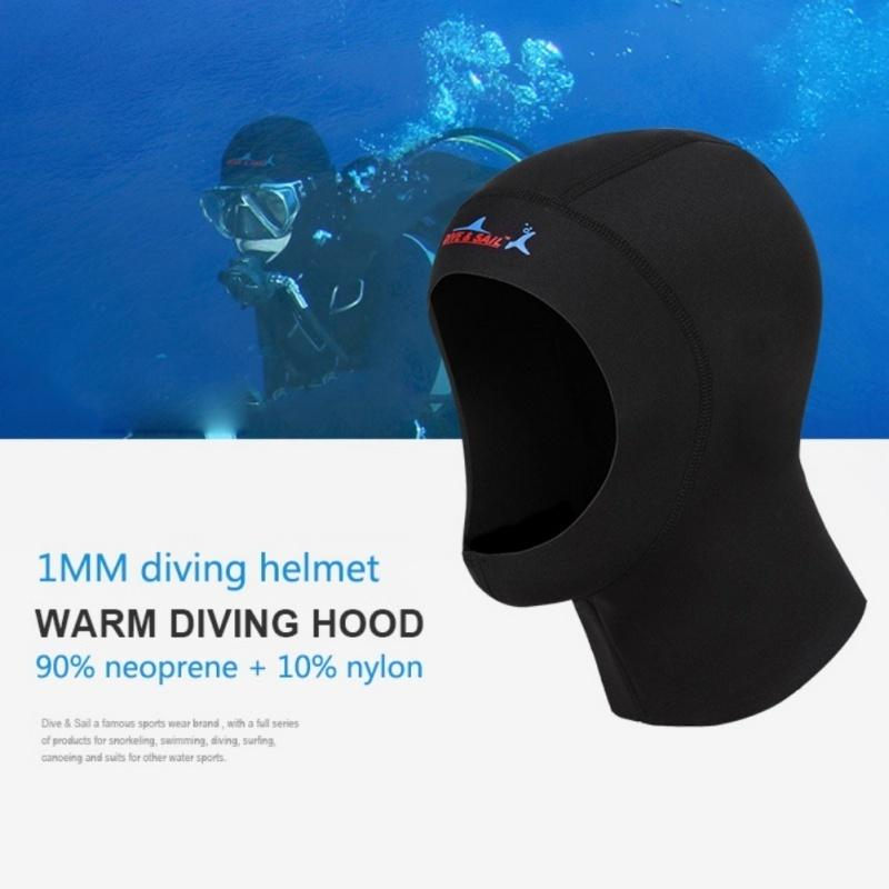 XS Scuba Hoods Scuba and Snorkel Diving Beanie 2mm Neoprene