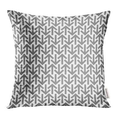 Gray Geo Grey Squares Geometric Pattern Interlocking Pillow Case 18x18inch 45x45cm Buy At A Low Prices On Joom E Commerce Platform