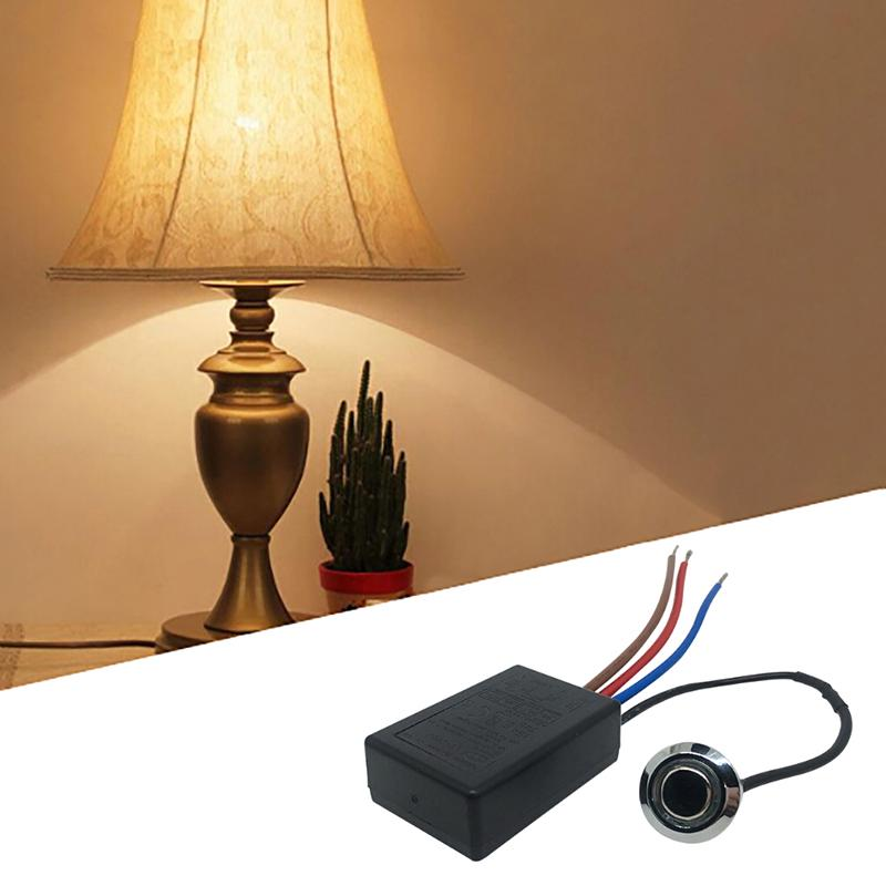 Ld 600s Build In 3 Way Finger Touch, Touch Control Lamp Dimmer