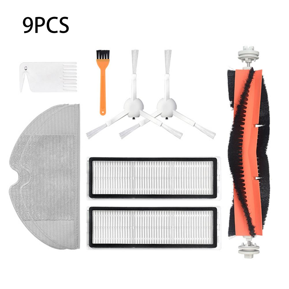 Roller Side Brush Filter Kit For Xiaomi MIJIA 1C Dreame F9 Robot Vacuum Cleaner