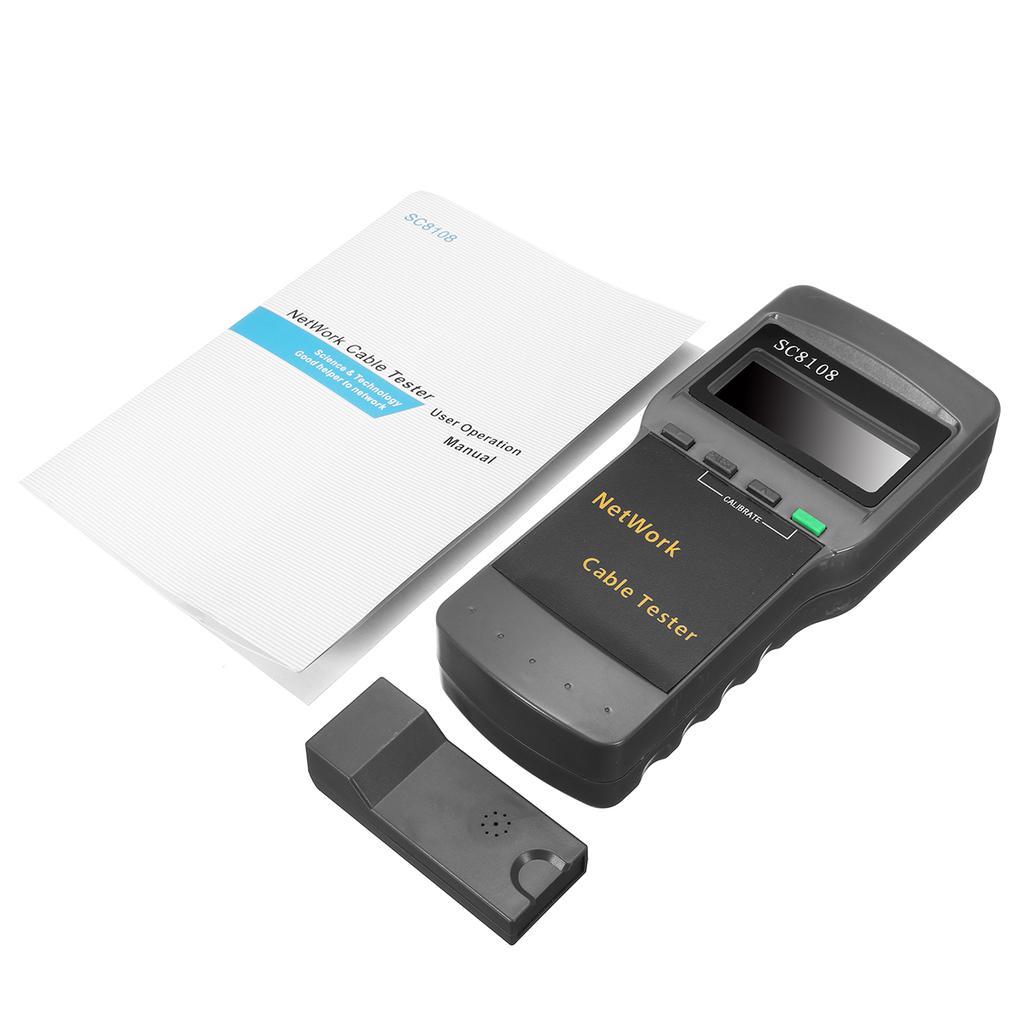 SC8108 Netzwerk Kabel LAN Tester Telefon Meter Cat5 RJ45 1 Ende Test ...