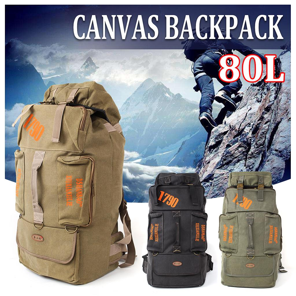 Outdoor Mountaineering Bag Mens Casual Travel Backpack Female Riding Sports Bag 55L