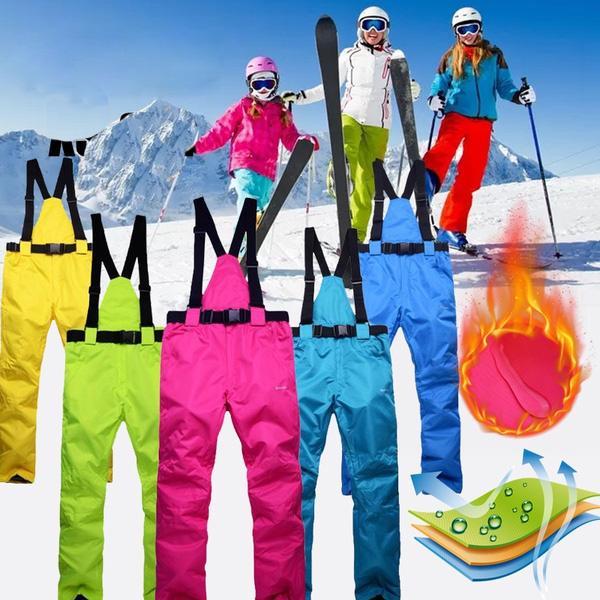 Kids Ski Snow Pants Waterproof Winter Windproof Outdoor Winter Snowboard Pants