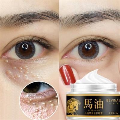 Horse Oil Moisturizing Eye Cream For Removing Dark Circles Eye