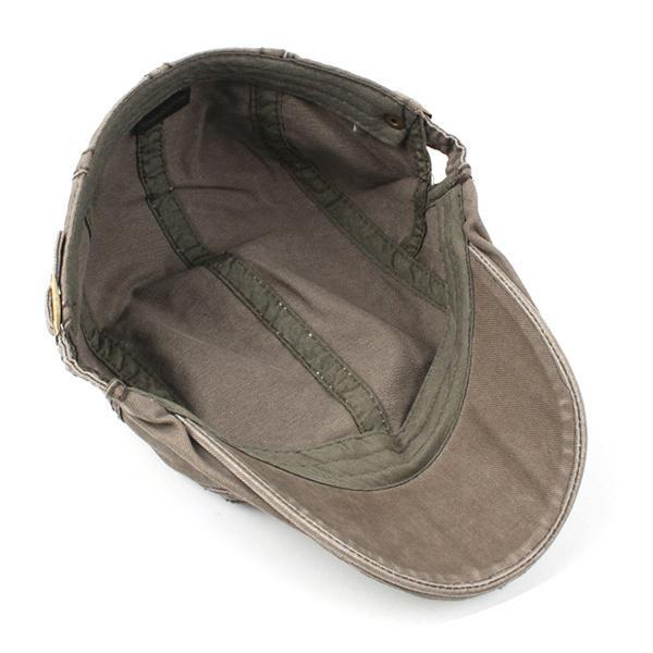 Los hombres lonetas boina gorra sombrero sombrilla Casual al aire ...