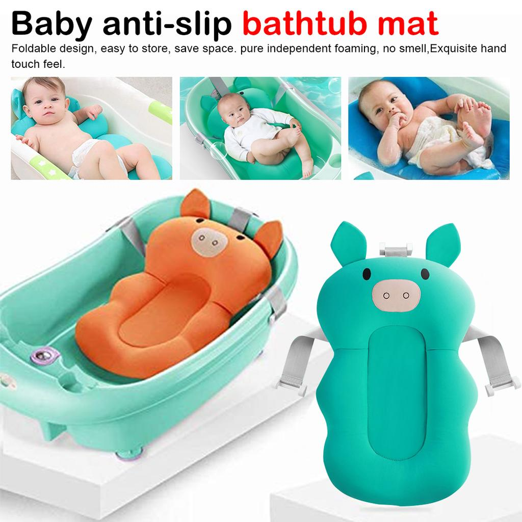 Baby Bath Pad Non Slip Bathtub Mat Baby Shower Portable Air Cushion Bed Babies Safety Buy At A Low Prices On Joom E Commerce Platform