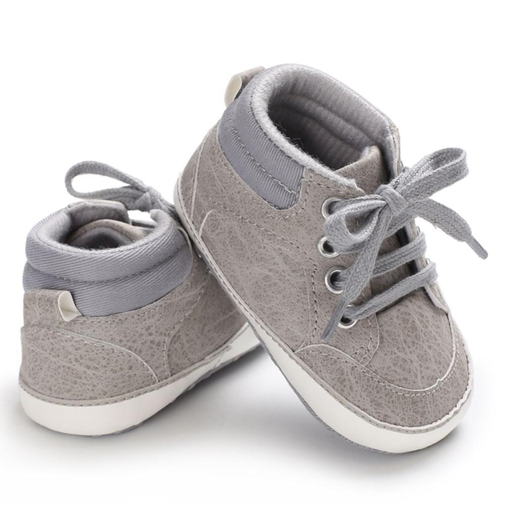 weiche Sohle Anti-Rutsch Prewalker Kleinkind Krippe Schuhe Sneaker 6-12m