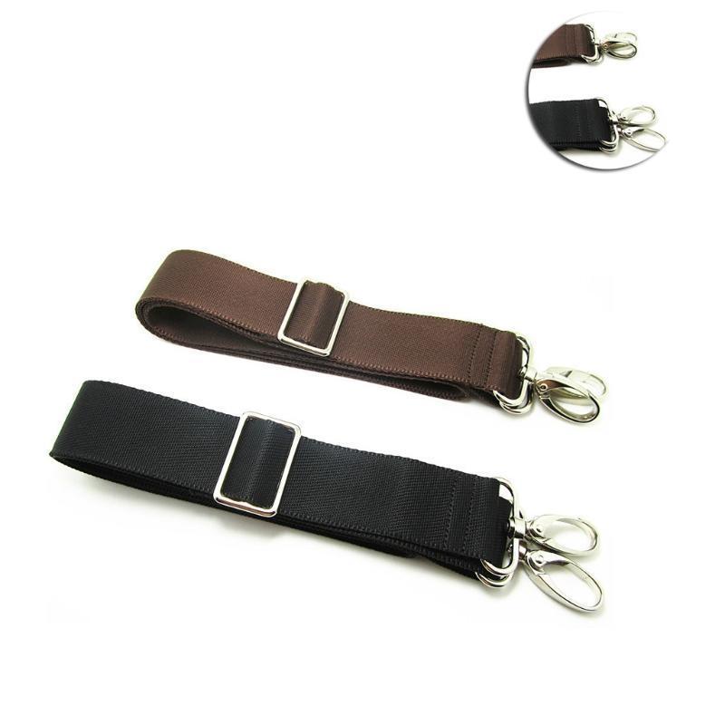 2x Shoulder Messenger Camera Computer Bag Strap Replacement w// Swivel Hooks
