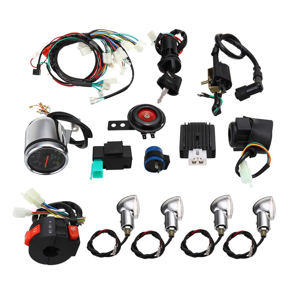 Ignition Coil CDI Kill Switch Fr 110cc 125cc 150cc GY6 Pit Dirt Bike ATV Taotao