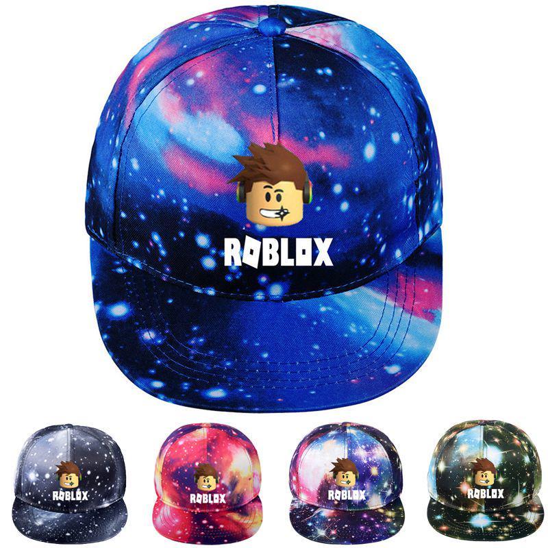 Game Roblox Baseball Cap Starry Sky Hat Men Women Hip Hop Trucker Snapback