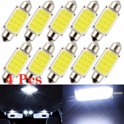 GREEN 11 X 36MM-39MM HIGH POWER 2 SMD 2SMD LED INTERIOR DOME 12V LIGHT BULB LAMP