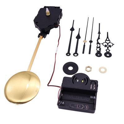 Wall Quartz Pendulum Clock Movement Mechanism Music Box DIY Kit for Repairing Replacing