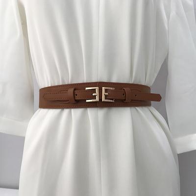 Women Belt Corset Girdle PU Leather Dress Creative Decor Hippie Tassels Girdle