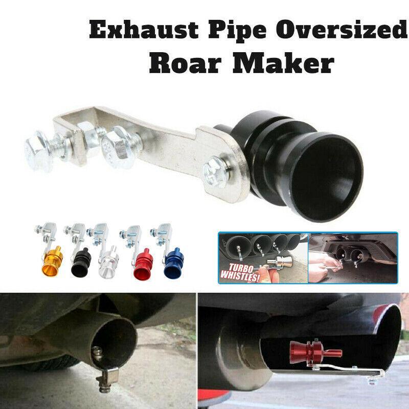 Riloer Turbo Sound Simulator Whistle Exhaust Pipe Oversized Roar Maker Car Sound Maker