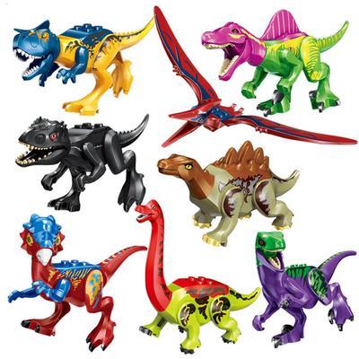 Lego Dinosaurs Minifigure Jurassic park Pterosauria Triceratops Indomirus T-Rex