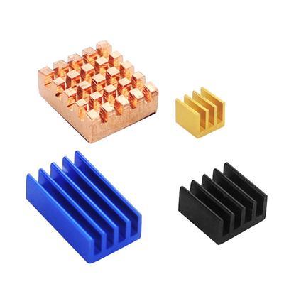 4pcs//set Aluminum Heatsink Radiator Cooler for Raspberry Pi  X