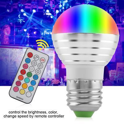 Pack 3 colours LED bulbs + wifi driver led illumination