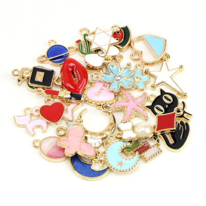 100 Gram Mixed Alloys Metal Antique Anchors//Rudder-shaped Pendant Charms Bracelet Necklace DIY Jewelry Making Accessory