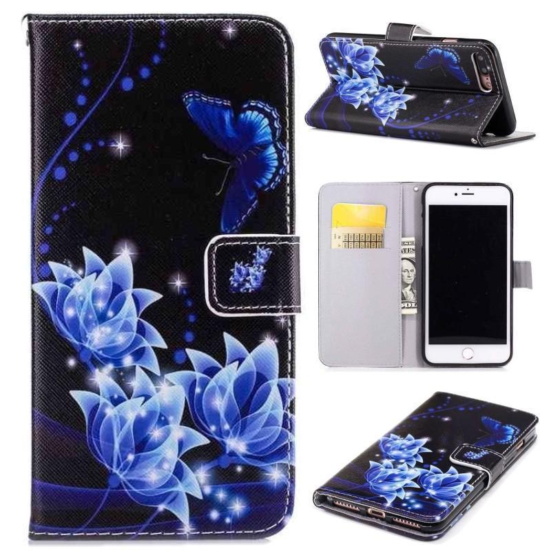 Роскошный Очаровательный Цветок Карты Стенд Кошелек Телефон Защитить оболочки Обложка для iPhone Samsung Huawei Xiaomi фото